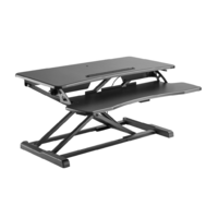 Vertica Sit-Stand Desk (Black)